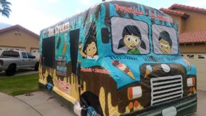 Ice Cream Truck Interactive Jumper