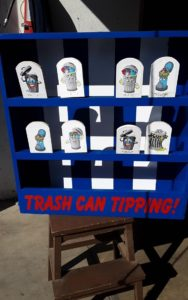 Trash Can Tipping